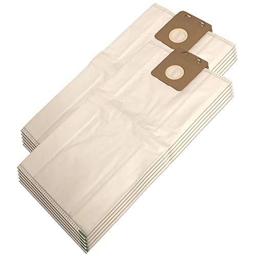 PakTrade 10 Mikrovlies Staubsaugerbeutel Für NILFISK Vento8, VP300, VP300 Eco, VP300 Hepa