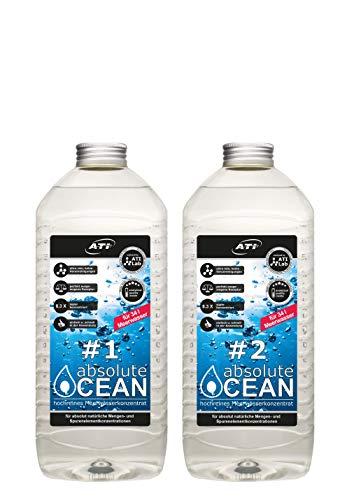 ATI Absolute Ocean 2 x 2,04 Liter für 34 Liter hochreines konzentriertes Meerwasser