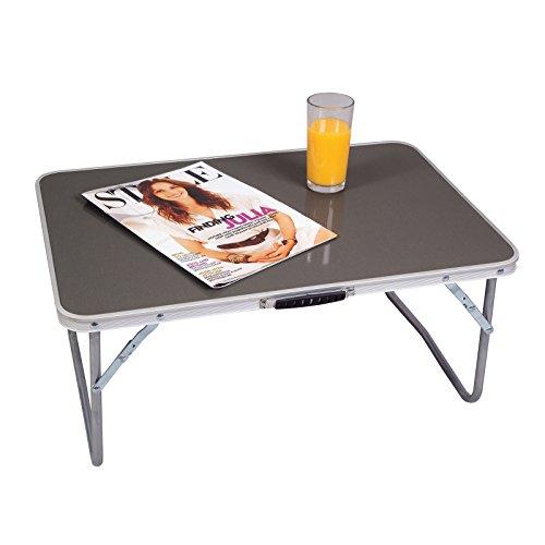 Niedriger Campingtisch 60 x 40 cm zusammenfaltbar bis zu 30kg belastbar • Gartentisch Klapptisch Koffertisch Falttisch Tisch Bierzelttisch