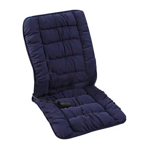 Beheiztes Sitzkissen, Bequeme und temperaturverstellbare universelle Sitzheizung mit Lordosenstütze für den Home Office-Stuhl