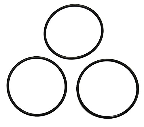 """Captain O-ring - Replacement for Pentek 151231-27 (sh143330) Water Filter Orings compatible with 3/8"""" Slimline Housings (3 Pack)"""