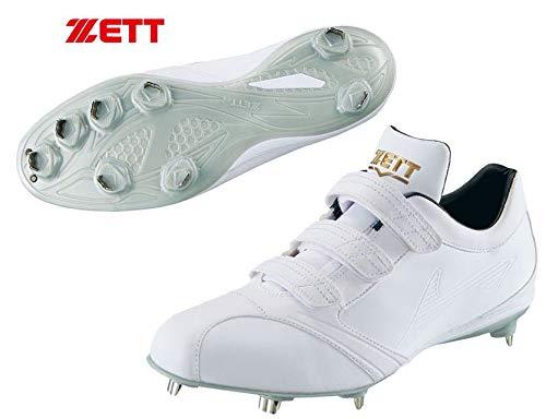 NEW 高校野球対応・白スパイク ZETT 熱中症対策