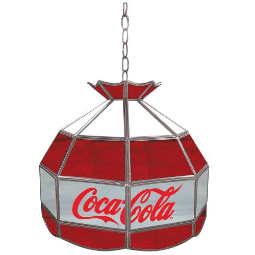 "Coca-Cola Tiffany Gameroom Lamp, 16"""