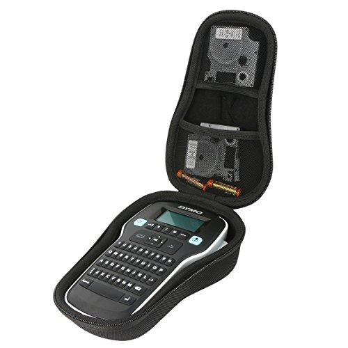 Khanka Hard Travel Case Replacement for DYMO Label Maker | LabelManager 160 Portable Label Maker (Black)