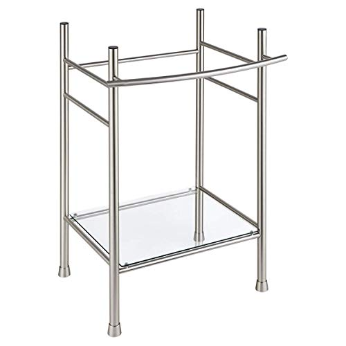 American Standard 8719000.295 Edgemere Console Table Legs, Brushed Nickel