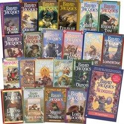 Complete Redwall Series Set Bundle 22 Books