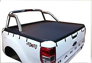 Bunji Ute Tonneau Cover to suit Ford PX Ranger Dual Cab Nov 2011 to Current, to fit genuine sports bar