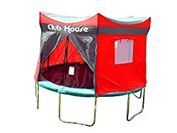 trampoline clubhouse tent