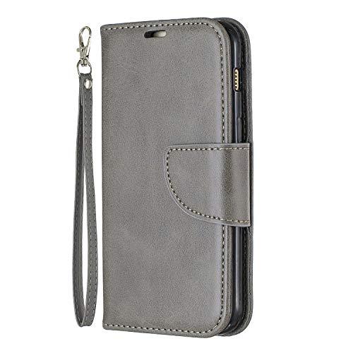 Hoesje voor Galaxy A3 (2017) Wallet Book Case, Magneet Flip Wallet met Kaarthouders slots Robuuste schokbestendige Bookcase voor Samsung Galaxy A3 2017 - JEBF110110 Grijs