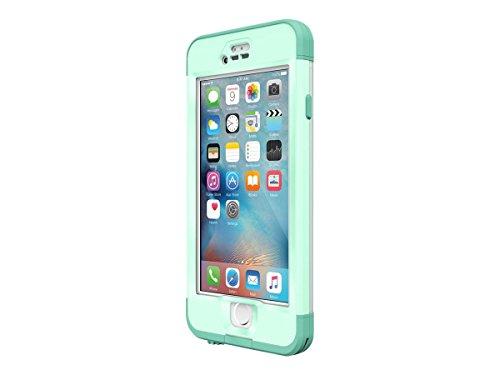 Lifeproof NÜÜD SERIES iPhone 6s Plus ONLY Waterproof Case - Retail Packaging - UNDERTOW (AQUA SAIL BLUE/CLEAR/TAIL SIDE TEAL)