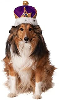 Rubies Mardi Gras King's Crown for Pets
