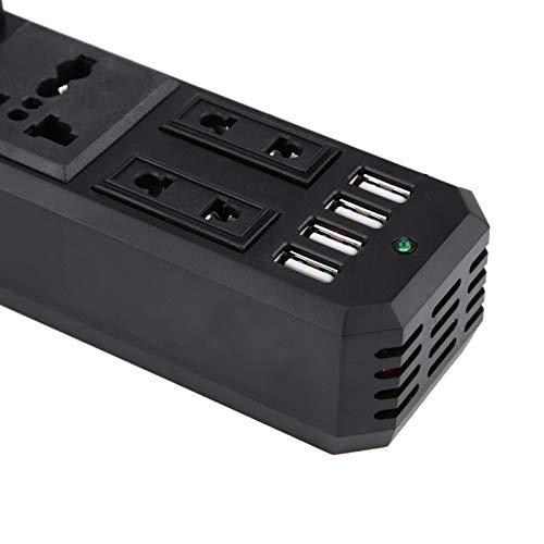 Adaptador de cargador USB convertidor de inversor de corriente para coche para accesorios de coche