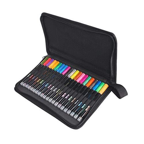 Tanmo Juego de 21 bolígrafos de color, rotulador de contorno