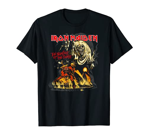 Iron Maiden - Number of the Beast Graphic Maglietta