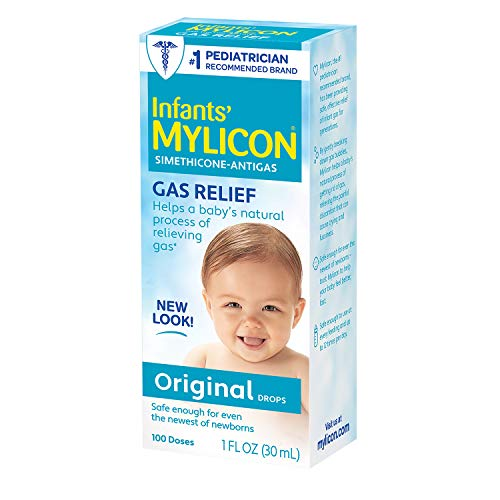 Mylicon Gas Relief Drops for Infants and Babies, Original...