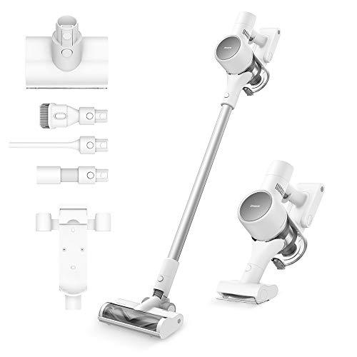 Dreametech T10 Cordless Vacuum Cleaner, Long Runtime, 20Kpa Powerful Suction Vacuum Cleaner, 8-Layer Noise Reduction Handheld Vacuum for Home Hard Floor Pet Hair