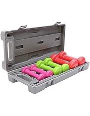مجموعة دامبل 3 ازواج ملونة