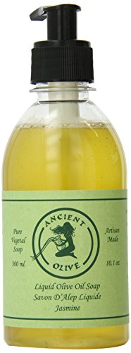 Ancient Olive Liquid Soap, Jasmine, 10 Ounce by Ancient Olive Soap, Inc.