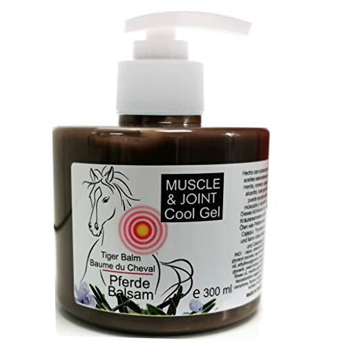 Pferdebalsam Bálsamo de caballo Bálsamo de Tigre Gel Refrescante Bálsamo de alivio dolor muscular Espalda, Rodilla, Articulaciones, Musculos 300 ml