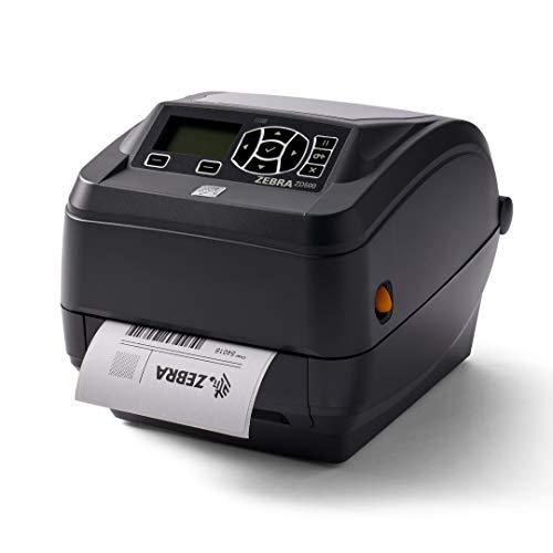 Zebra ZD500t Thermal Transfer Desktop Printer 203 dpi Print Width 4 in Wifi Ethernet Serial Parallel USB ZD50042-T01A00FZ