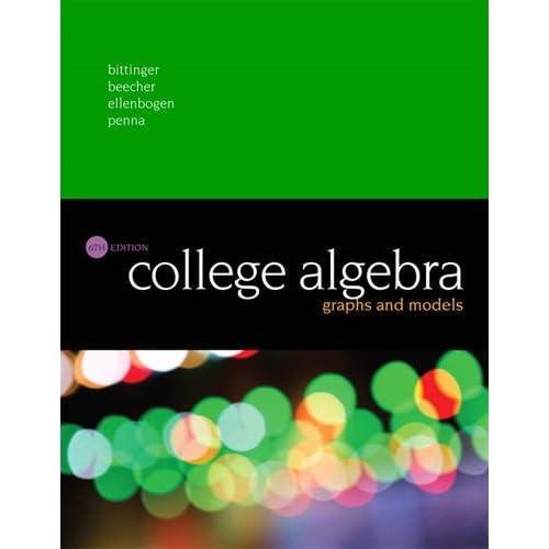 College Algebra: Amazon com