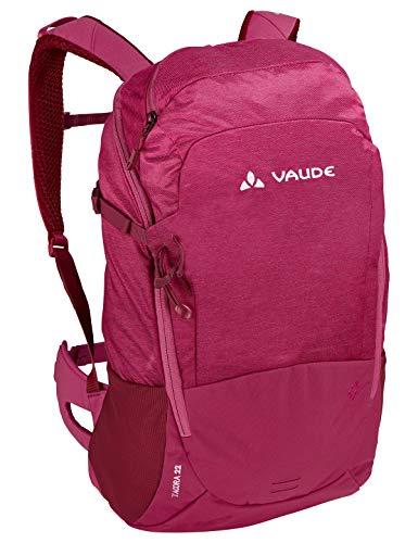 VAUDE Damen Rucksäcke20-29l Women's Tacora 22, Allround-Rucksack für Wandern und Alltag, crimson red, Einheitsgröße, 129769770