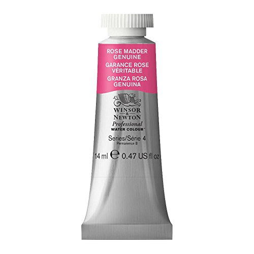 Winsor & Newton Professional Water Colour Paint, 14ml tube, Rose Madder Genuine