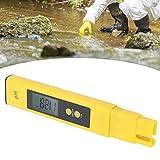 Probador de pH, herramienta de prueba liviana para piscina para acuario para beber en el hogar para 0-50 ℃ para hidroponía de agua