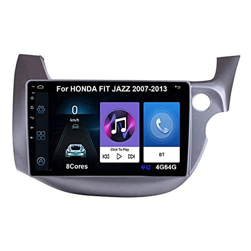 Autoradio GPS Navigazione Music 9 Pollici HD Touch Multimedia Per HONDA FIT JAZZ 2007-2013 Collega E Usa Navigatore Con Telecamera Per Retromarcia Chiamate in Vivavoce SWC