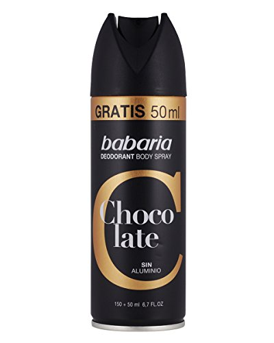 Babaria Body Spray Corporal para Hombre - 6 Paquetes de 200 ml - Total: 1200 ml