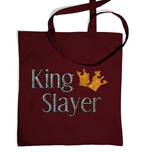 King Slayer Tasche, burgunderfarben, Einheitsgröße