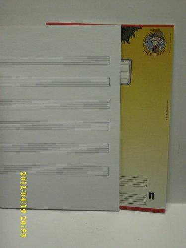 Notenheft A5 16 Bl.Hoch 80 G