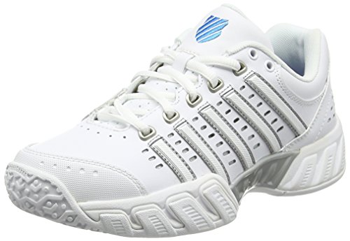 K-Swiss Performance KS Tfw Bigshot Light LTR Omni, Zapatillas de Tenis Mujer, Blanco (White/Hawaiian Ocean 38), 40 EU