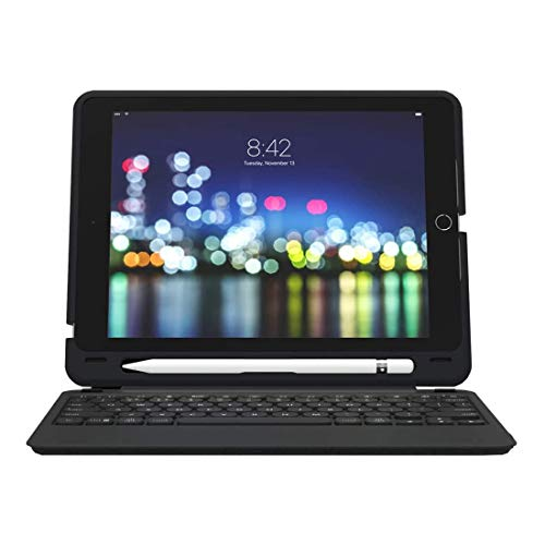ZAGG Slim Book Go - Bluetooth Keyboard and Case - Made for Apple iPad 10.2' - Black (UK)