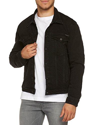 Calvin Klein Jeans Herren Jacke Classic Jacket-Rich Black, Schwarz (Rich Black 903), XXL