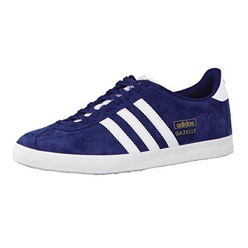 adidas Gazelle OG, Baskets Basses Homme, Bleu (Dark/Indigo/Running White), 42 EU