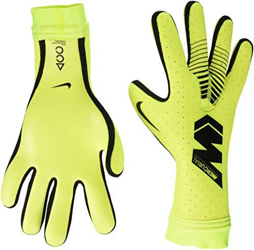 Nike Mercurial Touch GS0356-702 Guante Elite Pro Fútbol para Unisex adulto, Amarillo/Negro, 8