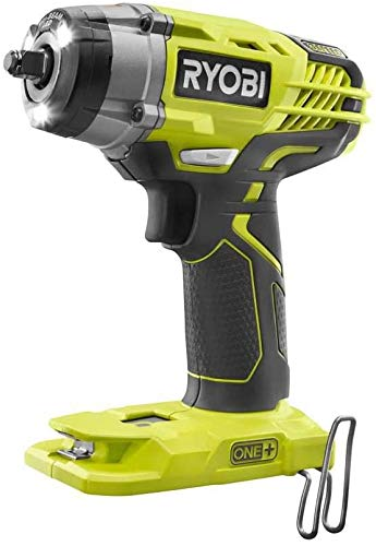 RYOBI 18 Volt Cordless 3/8 in. 3-Speed Impact Wrench Kit P623 with Battery and Charger (NO Retail Packaging, Bulk Packaged)