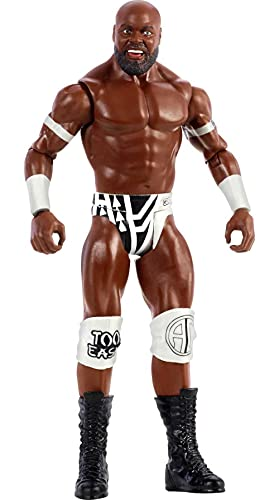 WWE Series 121 Apollo Crews Action Figure Posable 6-in Collectible for Ages 6 Years Old and Up