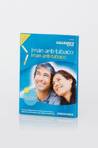 AQUAMED Imán anti-tabaco - Dispositivo magnético, Terapia auricular / Acupresión, Reduce deseo de fumar