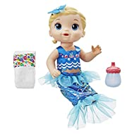 Baby Alive Shimmer 'n Splash Mermaid Blonde Hair Ideal for kids Designed for easy use