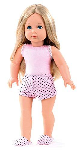 Götz 1490365 Poupée Precious Day Girls Jessica Girl to Dress - poupée de 46 cm avec de Longs Cheveux blonds et des Yeux dormeurs Bleus - Set de 4 pièces