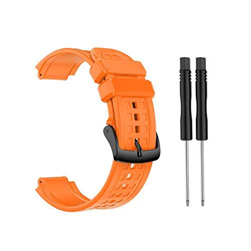 NA. Correa de silicona de repuesto para Garmin Forerunner 25 reloj GPS masculino