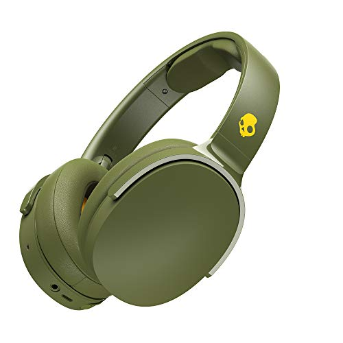 Skullcandy ワイヤレスヘッドホン Bluetooth対応 HESH3 WIRELESS MOSS/OLIVE 【国内正規品】 S6HTW-M687-A