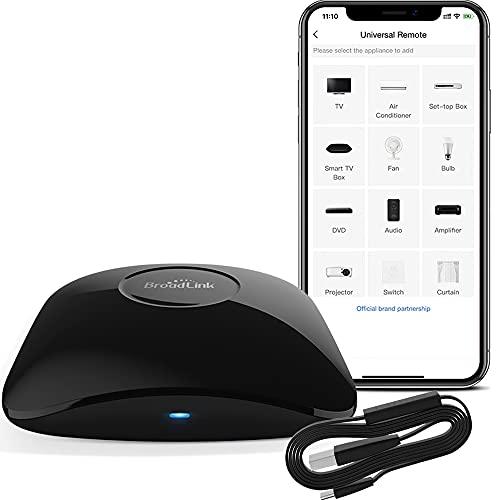 Broadlink RM4 pro+HTS2 IR RF WiFi Universale Remote Smart Home Automation Compatible