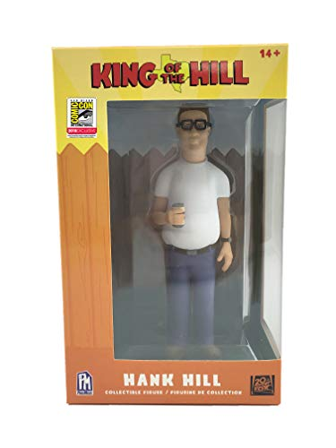 """SDCC 2018 Exclusive King of The Hill 5"""" Hank Hill Vinyl Figure"""