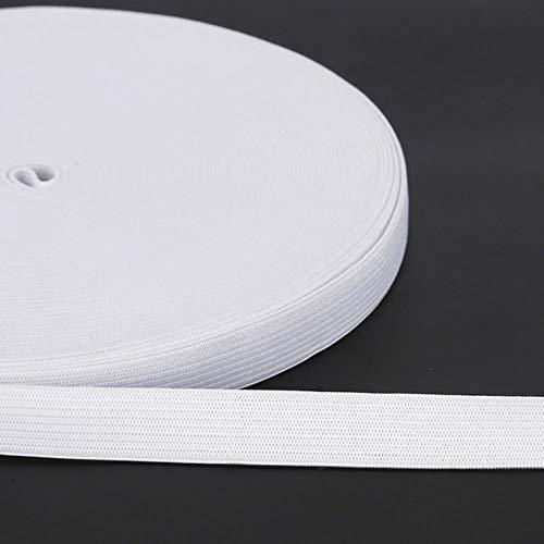 Breedte 0.6-5cm 5M Wit Zwart Elastische Band Spandex Riem Trim Naaien/Lint Kleding Flex Naaien Materiaal voor Shorts Rok Trouse Band