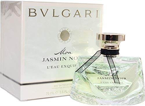 Bvlgari Mon Jasmin Noir L'eau Exquise Eau de Toilette Spray for Women , White , 2.5 oz