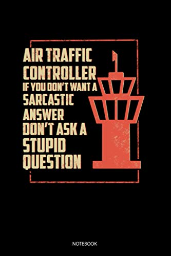 Air Traffic Controller: Blank Lined Journal 6x9 - Air Traffic Controller Airplane ATC Control Gift Notebook