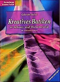 Kreatives Batiken in Schnur- und Wickeltechnik
